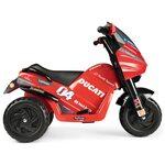 Peg Perego Ducati Desmosedici EVO 6V Elektriskais motocikls bērniem IGED0922